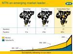 mtn an emerging market leader