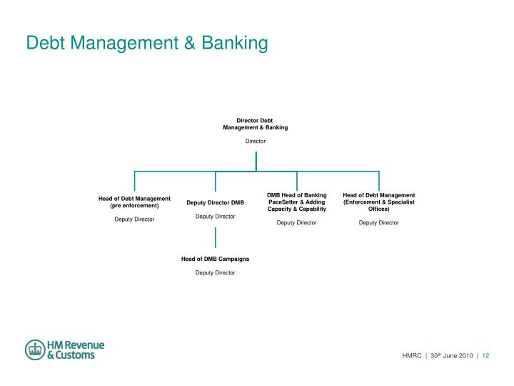 Debt Management & Banking