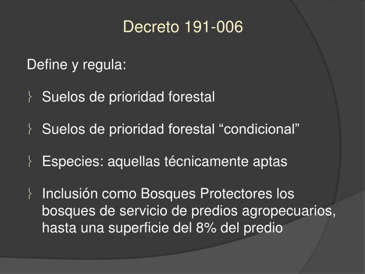 Decreto 191-006