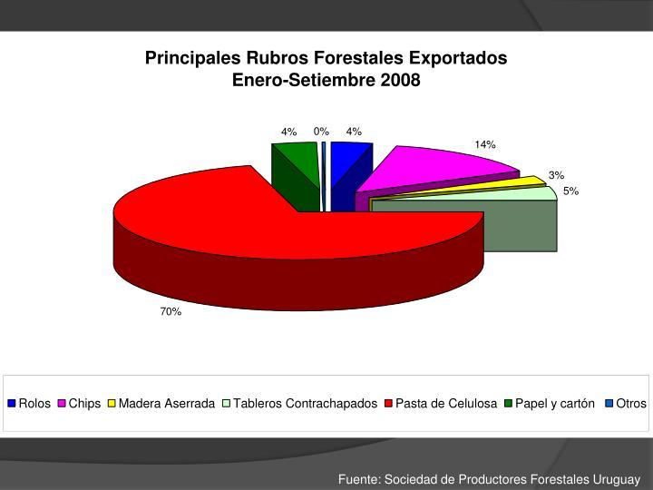 Fuente: Sociedad de Productores Forestales Uruguay