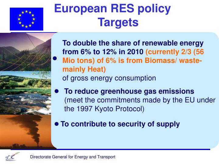 European RES policy