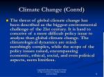 climate change contd1