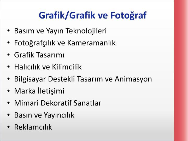 Grafik/Grafik ve Fotoğraf
