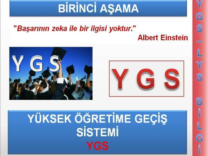 Y G S
