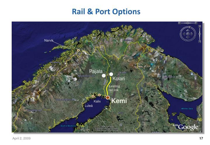 Rail & Port Options