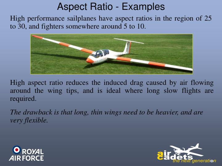 Aspect Ratio - Examples