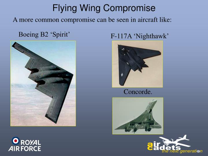 Flying Wing Compromise