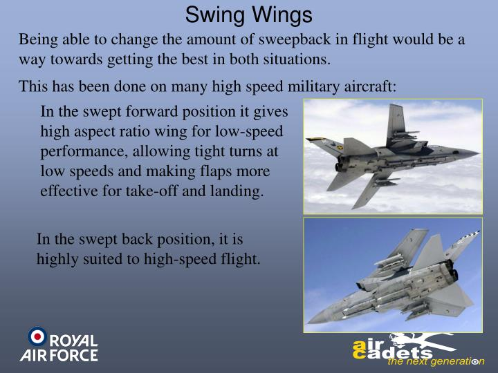 Swing Wings