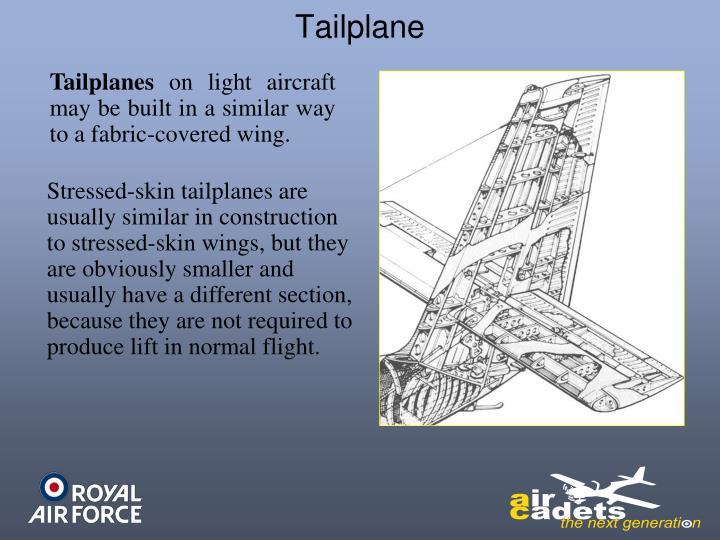 Tailplane