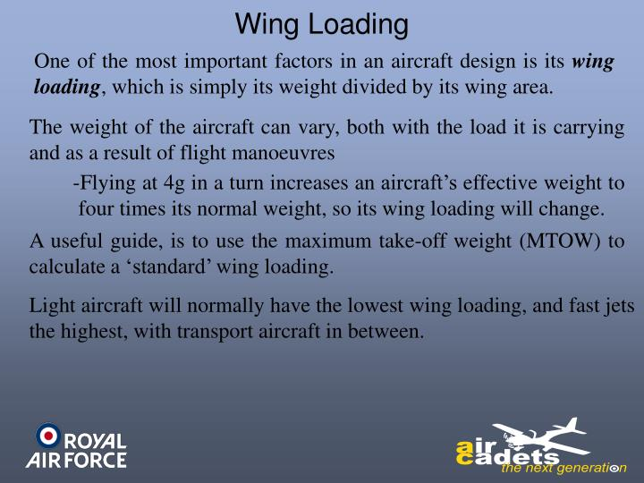 Wing Loading