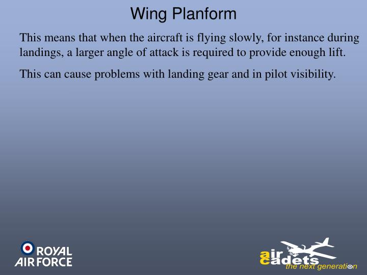 Wing Planform