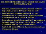14 1 procedimientos de la metodologia de sistemas blandos