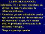 2 1 problemolog a