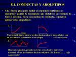 8 1 conductas y arquetipos