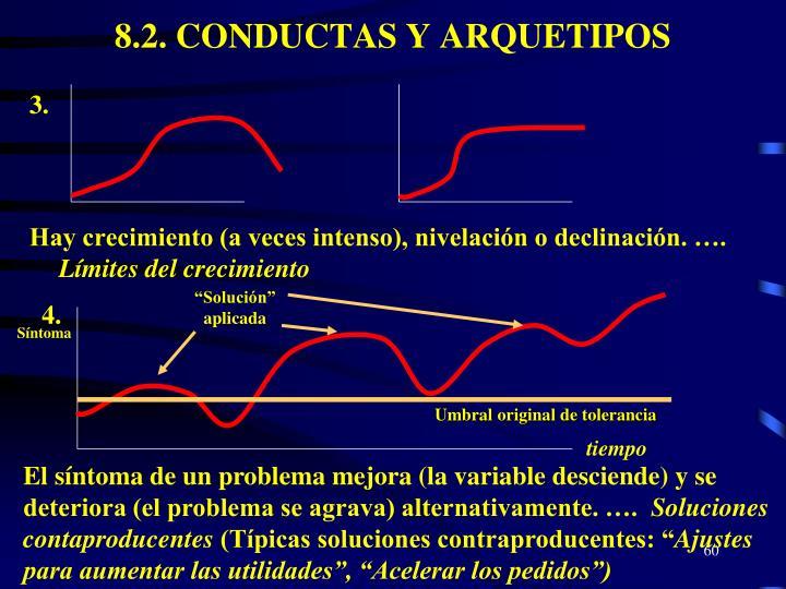 8.2. CONDUCTAS Y ARQUETIPOS
