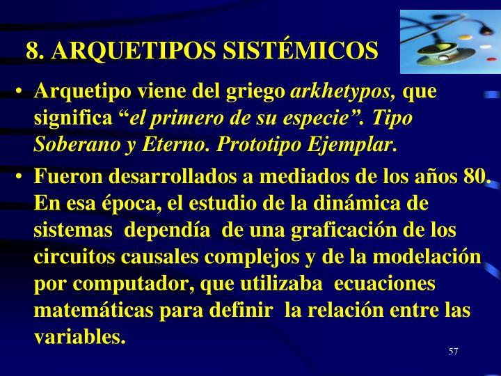8. ARQUETIPOS SISTÉMICOS