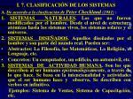 i 7 clasificaci n de los sistemas