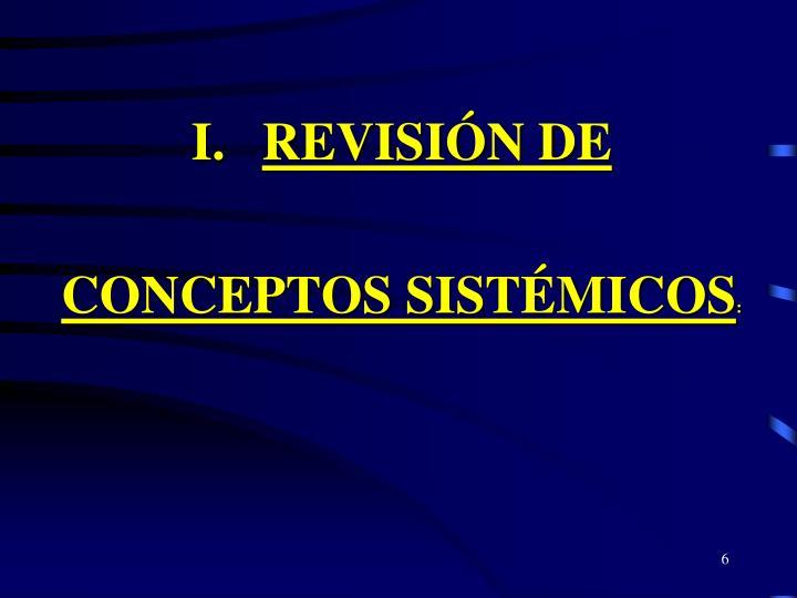 REVISIÓN DE