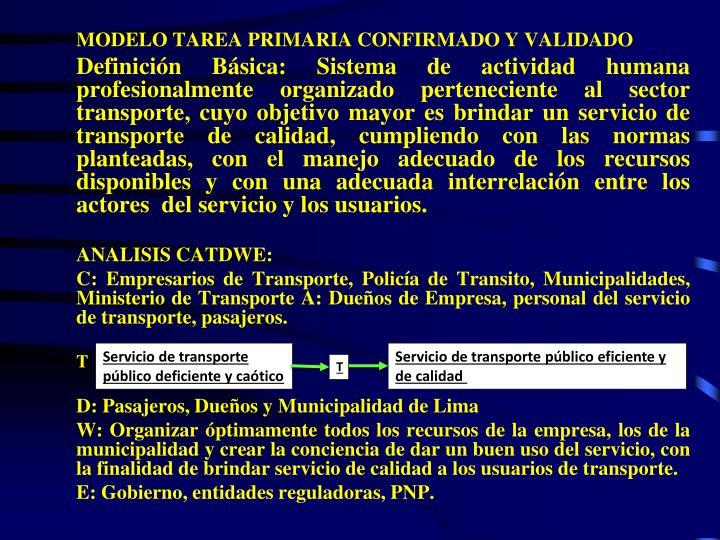 MODELO TAREA PRIMARIA CONFIRMADO Y VALIDADO