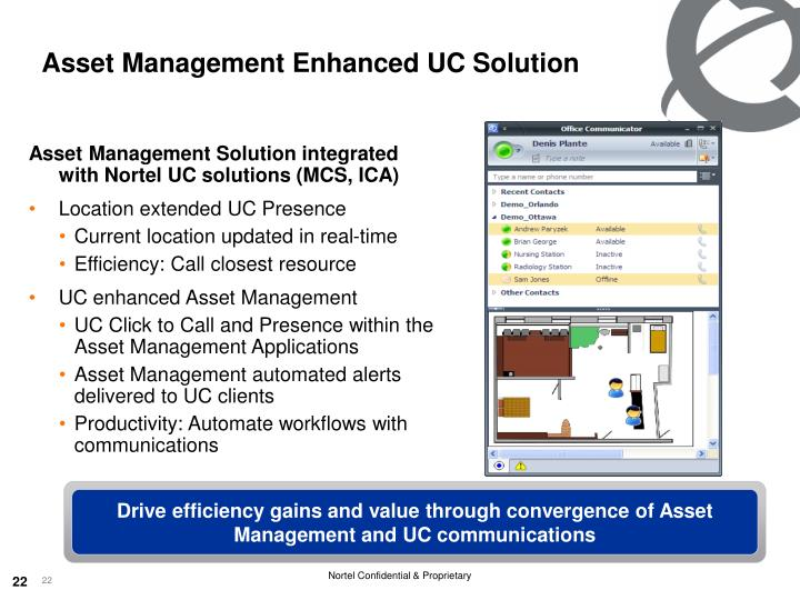 Asset Management Enhanced UC Solution
