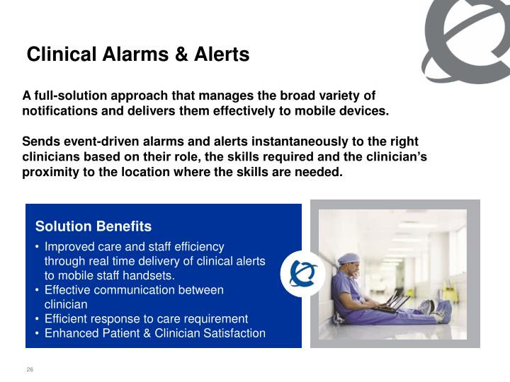Clinical Alarms & Alerts