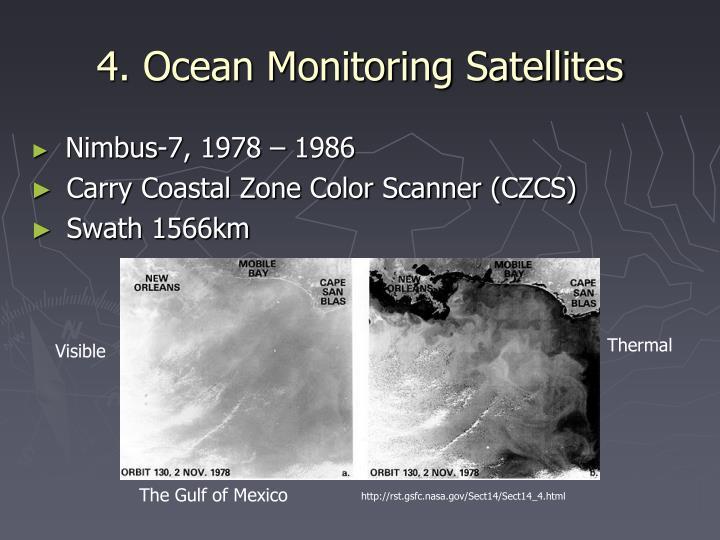 4. Ocean Monitoring Satellites