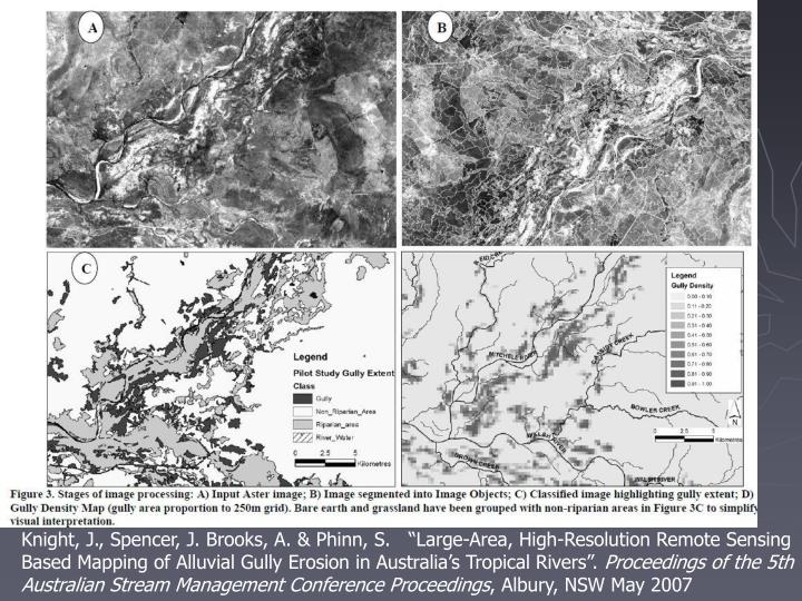 Mapping alluvial gully erosion in Australia tropical rivers