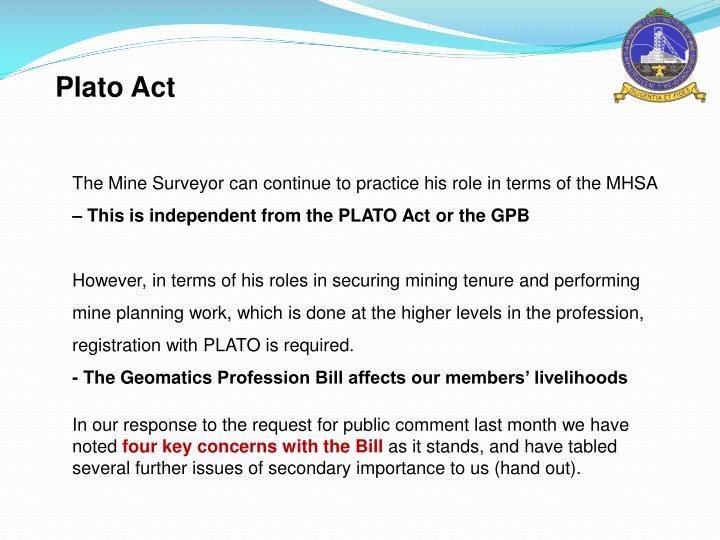 Plato Act