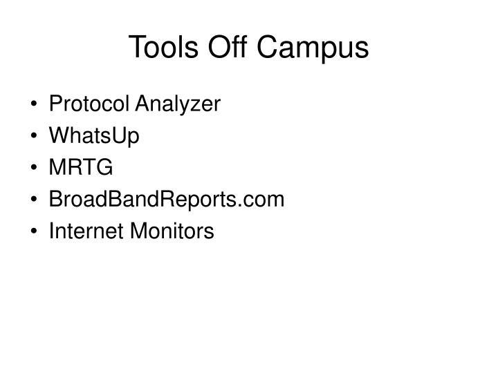 Tools Off Campus