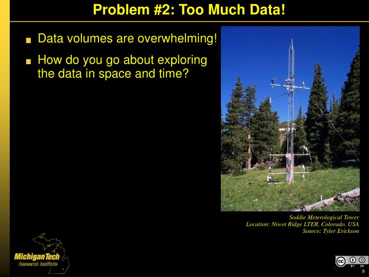 Problem #2: Too Much Data!