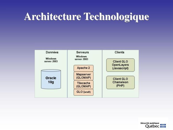 Architecture Technologique
