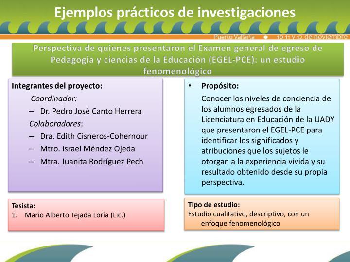 Perspectiva de quienes presentaron el Examen general de egreso de Pedagogía y ciencias de la Educación (EGEL-PCE): un estudio fenomenológico