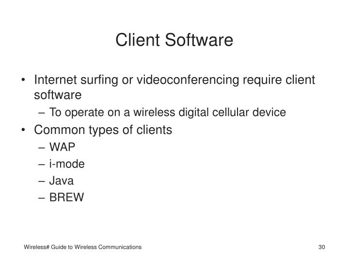 Client Software