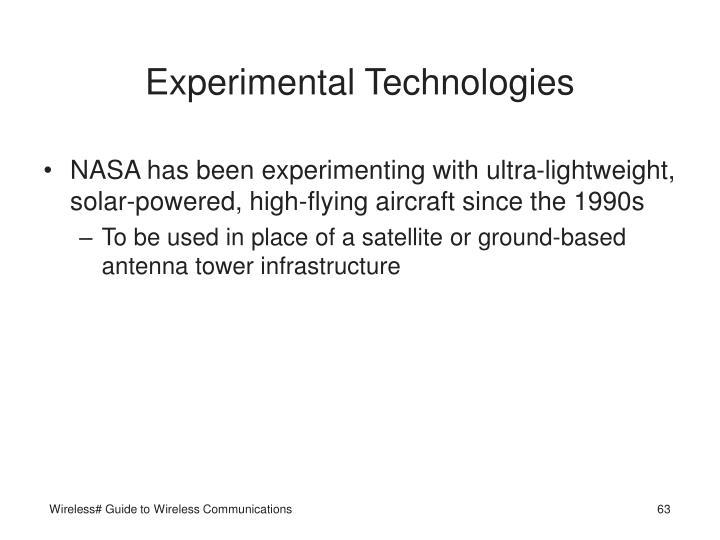 Experimental Technologies