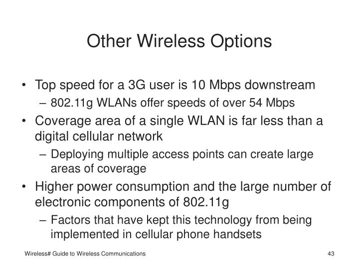 Other Wireless Options
