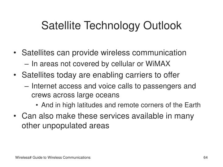 Satellite Technology Outlook