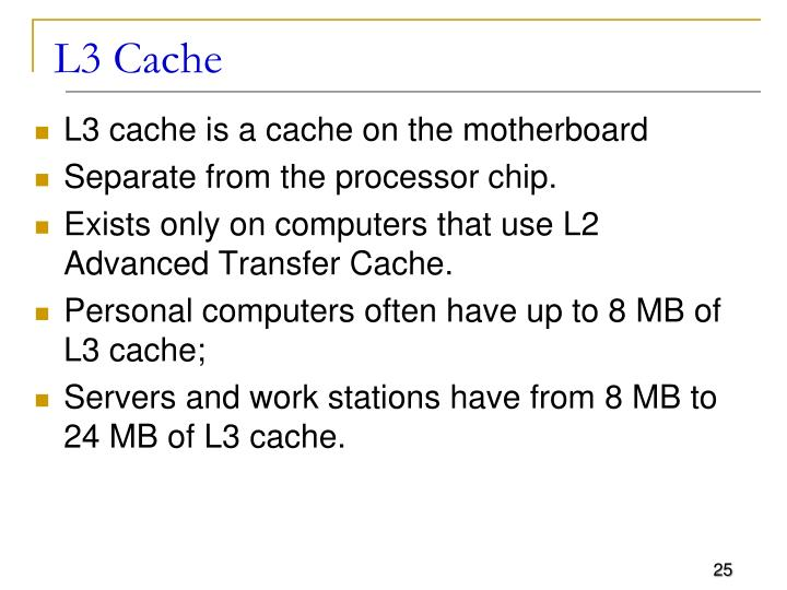 L3 Cache