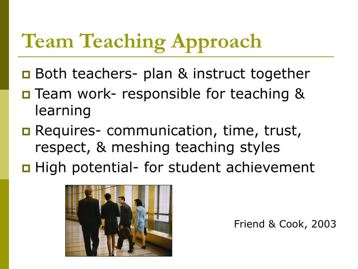 Team Teaching Approach