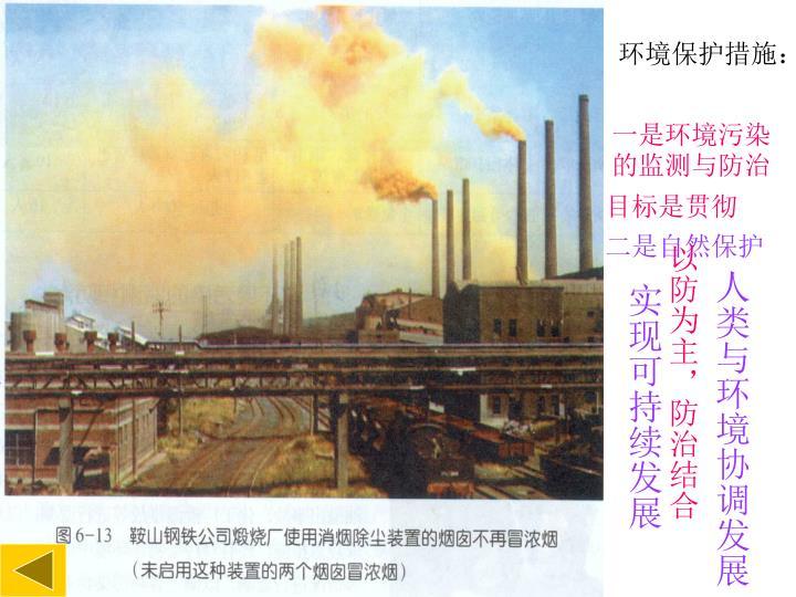 环境保护措施: