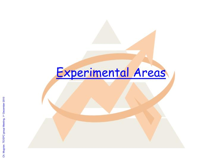 Experimental Areas