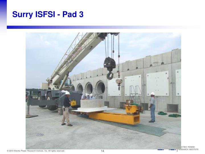 Surry ISFSI - Pad 3