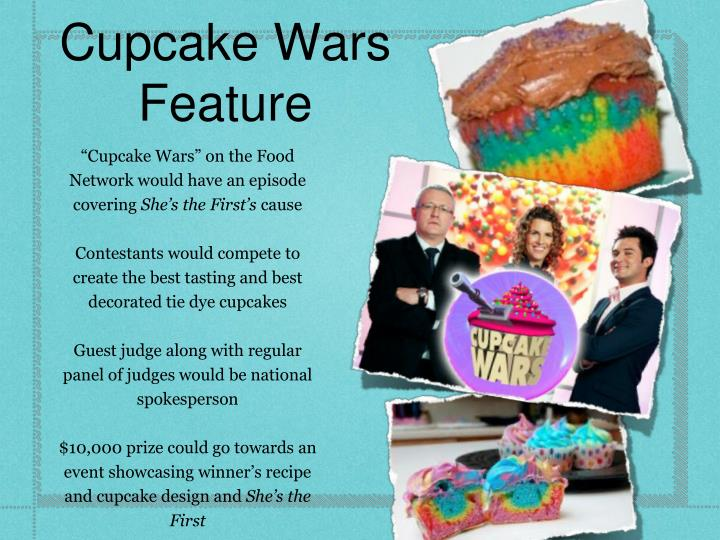 Cupcake Wars Feature
