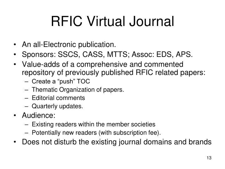 RFIC Virtual Journal