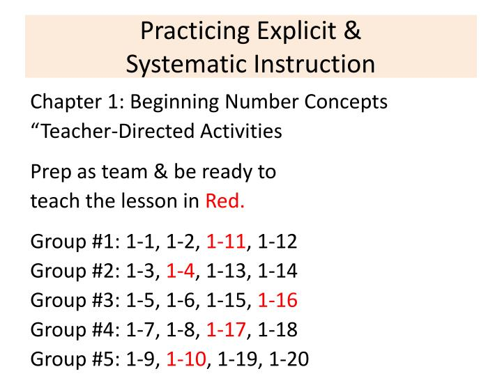 Practicing Explicit &