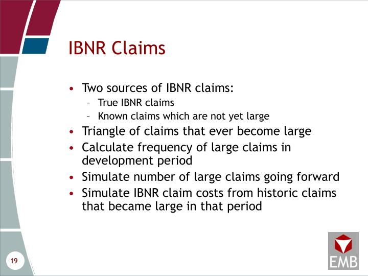 IBNR Claims