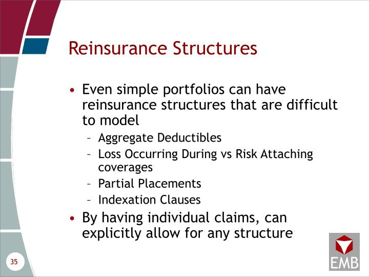 Reinsurance Structures
