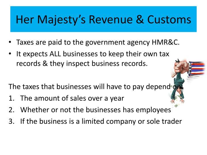 Her Majesty's Revenue & Customs