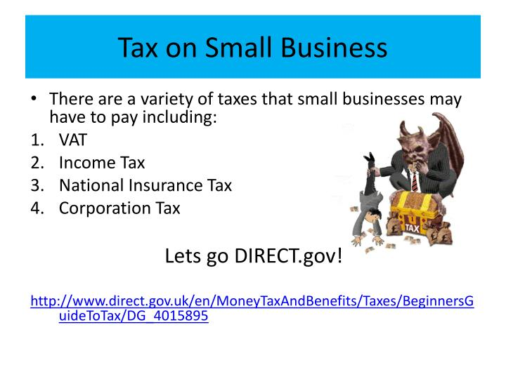 Tax on Small Business