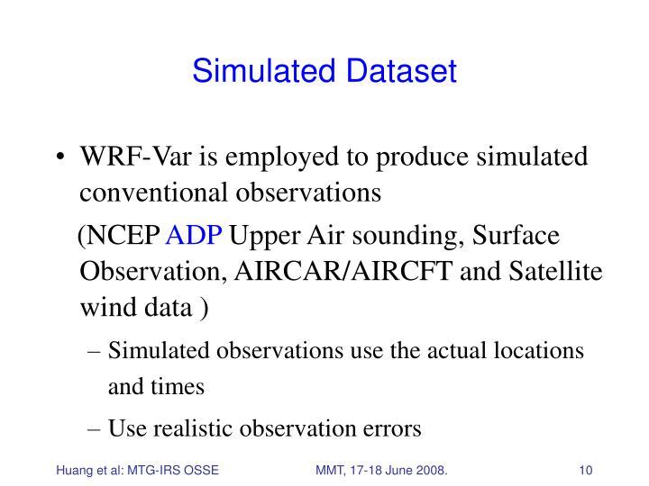 Simulated Dataset