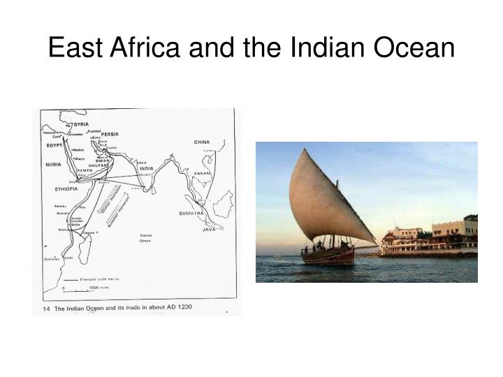 East Africa and the Indian Ocean